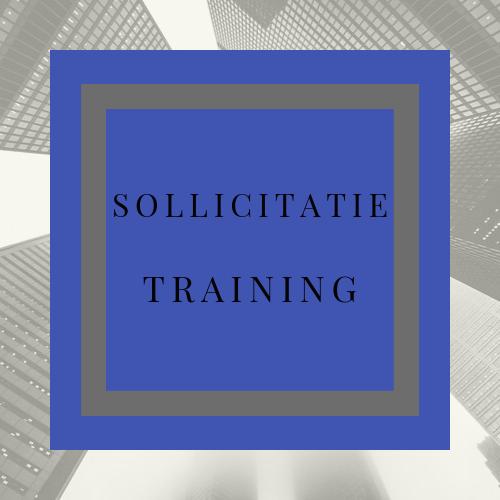 Sollicitatie training
