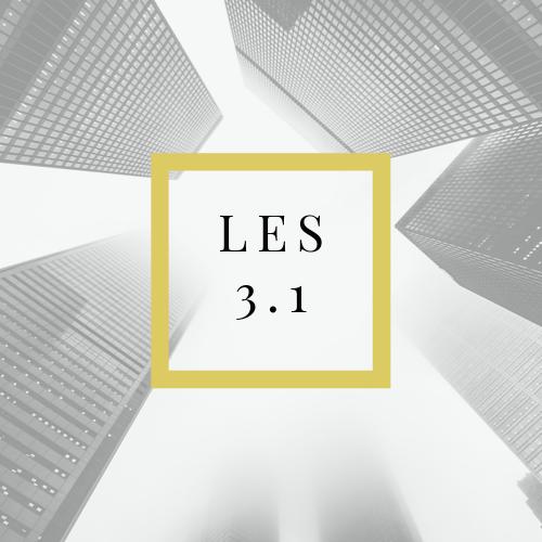 Les 3.1 Verandering